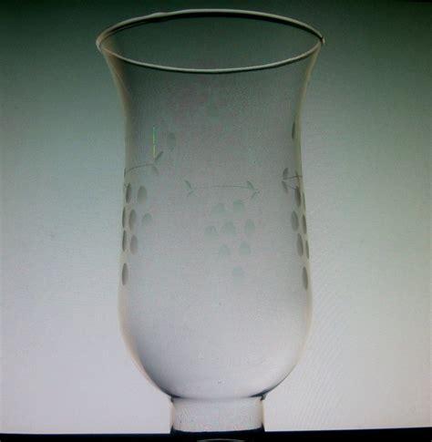 12 Inch Hurricane Vases Hurricane Shade 3 Grape Clusters 1 5 8 Inch Fitter X 6 75