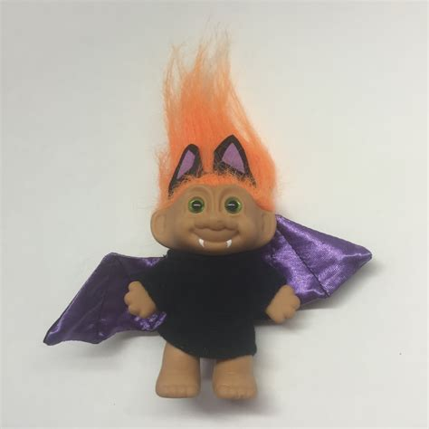 doll bat bat troll orange hair green troll doll troll doll bat
