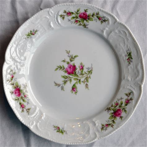 classic china patterns rosenthal china classic rose salad plate floral pattern germany antique price guide details page