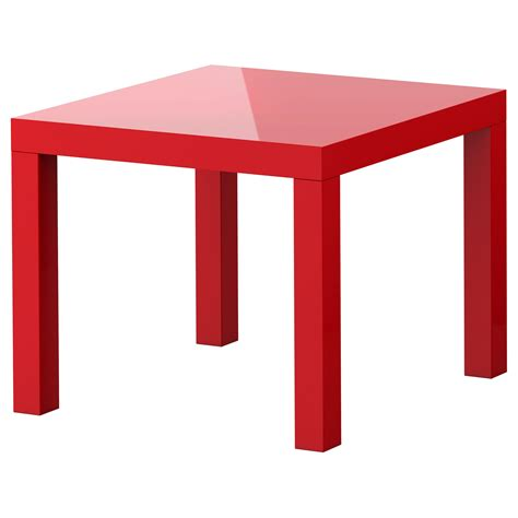 ikea end tables lack side table high gloss red 55x55 cm ikea