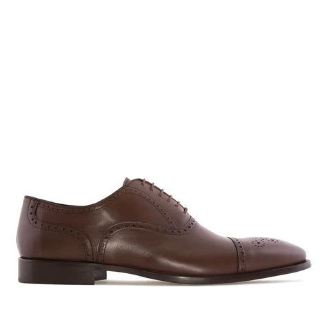 oxford style shoes oxford style shoes in brown leather alonai 179 90