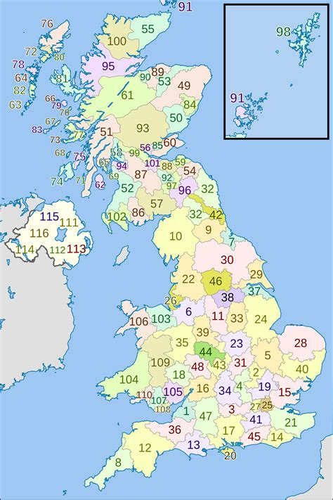 map uk zip codes geography uk postcode map