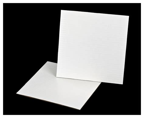 10 Inch Square Cake Box - 3256 10 inch white cake square coated corrugated cake board