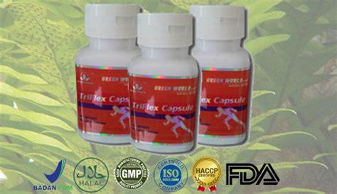 Obat Herbal Triflex Capsule obat herbal untuk memulihkan tulang belakang yang bengkok