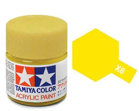 tamiya acrylic lemon yellow paint x8