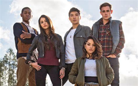 Powers Actors Look Power Rangers Cast