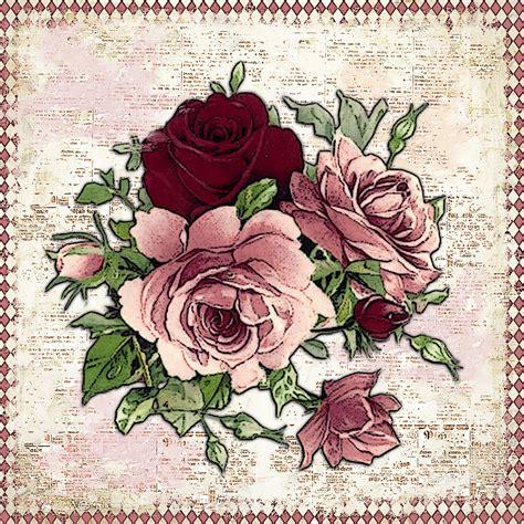 imagenes antiguas para decoupage mi baul del decoupage el paraiso de las flores