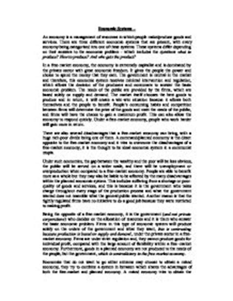 Mixed Economy Essay by Essay On The Economy Essay On Economic Growth And Development In India