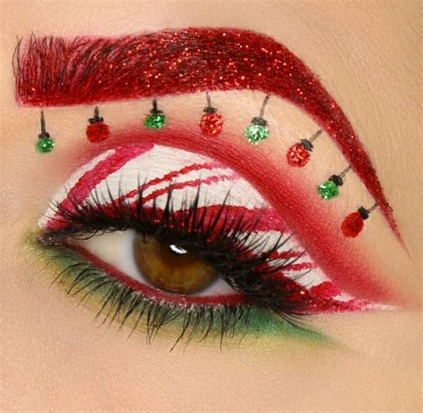 christmas eye christmas makeup  holiday makeup