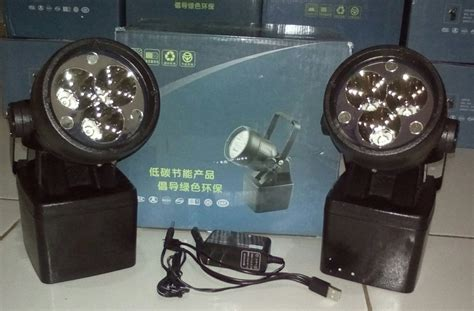 Led Glodok jual lu seter led rechargeable explosion proof qinsun elm660 spot light glodok jakarta indonesia