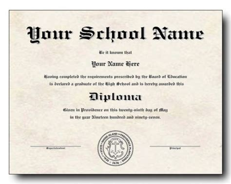 50 Free High School Diploma Template Printable Certificates Free Printable High School Diploma Templates