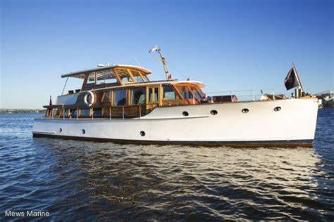 wooden boats for sale perth wa halvorsen 50 flybridge power boats boats online for