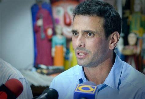 capriles ultimas noticias com ve pj en las noticias principales propuestas econ 243 micas de