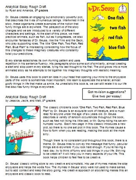 Dr Seuss Essay by Essay On The Sneetches Persepolisthesis Web Fc2