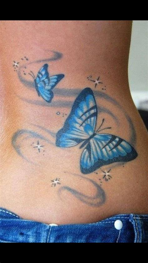 blues tattoo blue butterfly tattoos