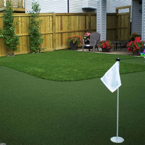 crazy cool backyard putting greens family handyman