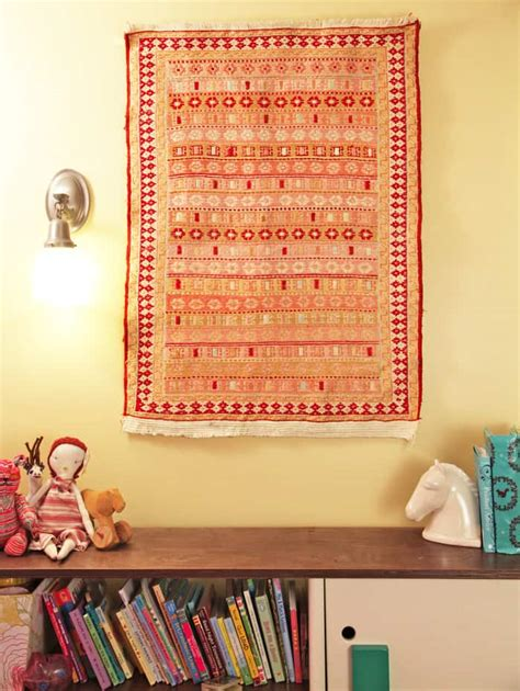 to hang rugs on wall how to hang a rug pretty prudent