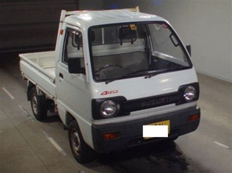 Suzuki Carry 4wd Suzuki Carry Truck 4wd 1990 Used For Sale