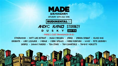 live made birmingham 2016 the digbeth triangle
