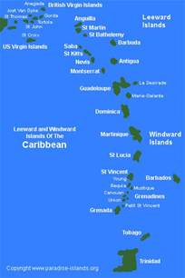Caribbean Island Map by 301 Moved Permanently