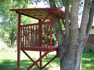Backyard Zip Line Platform by Kids Treehouse Colorado18 This Tree House Came With A