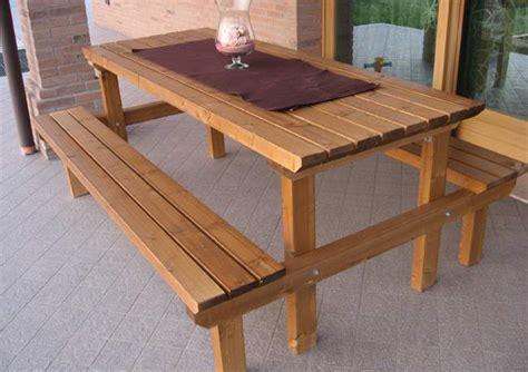 panche e tavoli in legno tavoli e panche in legno pave snc