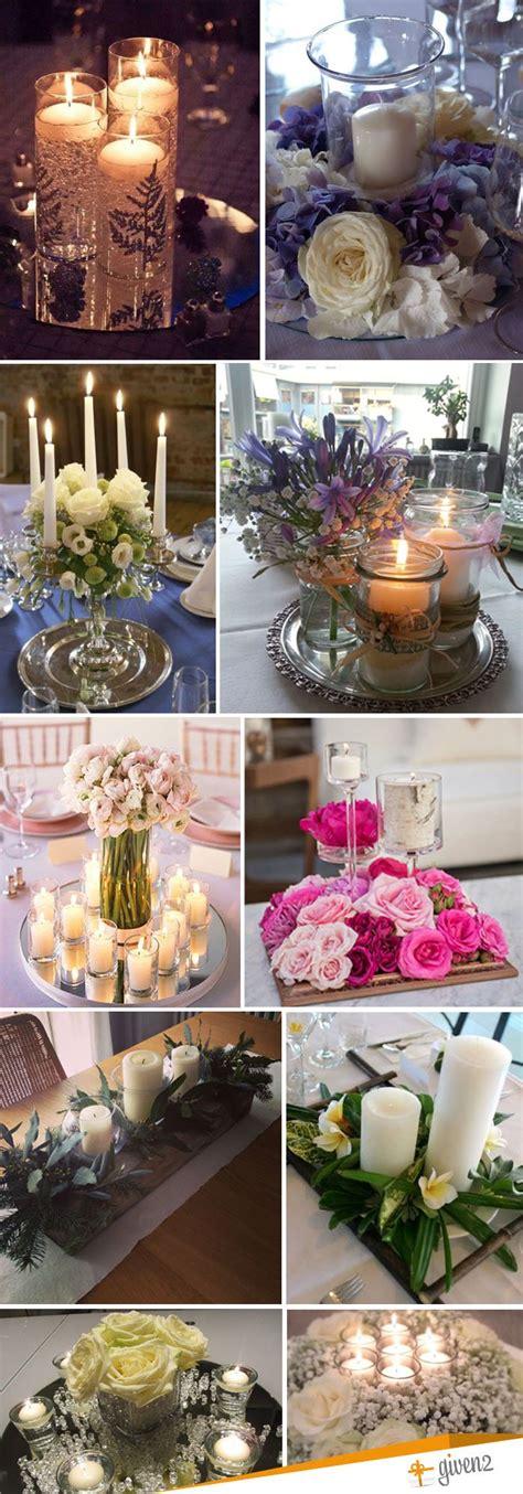 centrotavola candele candele matrimonio dai luce e colore al tuo matrimonio
