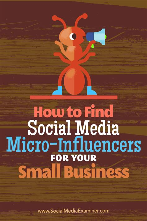 How To Find On Social Media How To Find Social Media Micro Influencers For Your Small Business Social Media Examiner