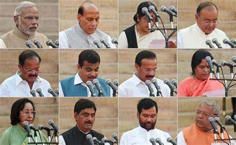 Photos Of Cabinet Ministers by Bjp Cabinet Reshuffle Here Is How Modi Can Restore What