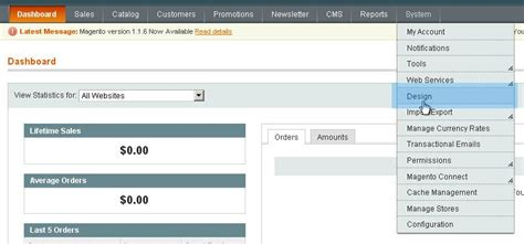 install magento template over existing store without sql