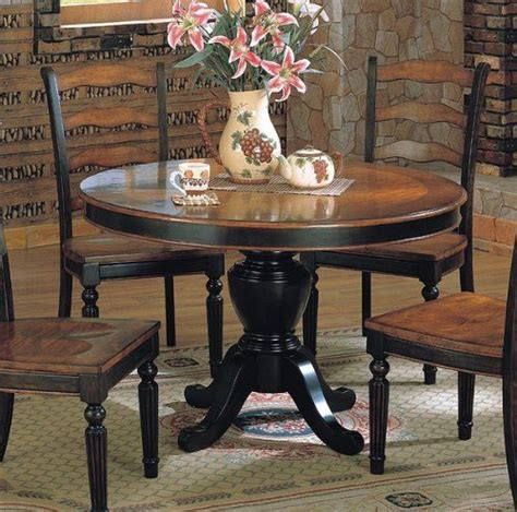 Sears Furniture Kitchen Tables by Ladder Back Chairs For Dining Table Like The Two Tone