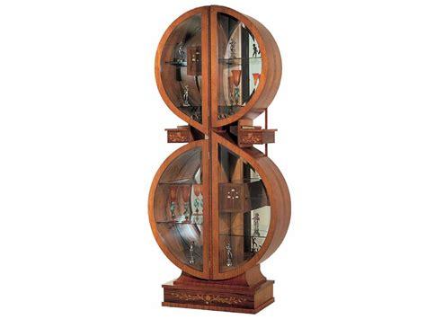 libreria chiave di violino cherry wood display cabinet chiave di violino by