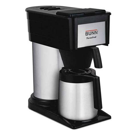 Bunn ThermoFresh 10 Cup Coffee Maker BTX B(D)   The Home Depot