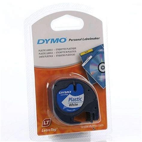 Label Letratag Dymo Plastic Clear Dymo Letratag dymo 174 letratag plastic 12mm x 4m pearl white sd91201