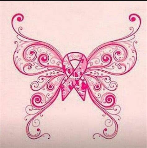 butterfly cancer ribbon drawing cancer ribbon butterfly