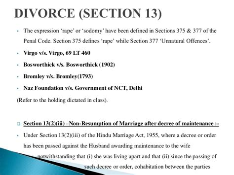 divorce under section 13 matrimonial remedies under hindu marriage act 1955