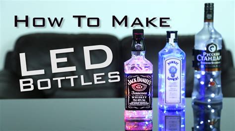 how to create light show diy how to make light up bottles simple