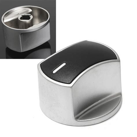 metal silver universal silver gas stove knobs cooker oven