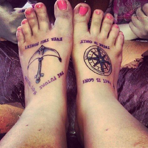 compass tattoo on foot 30 great compass tattoos for both men and women