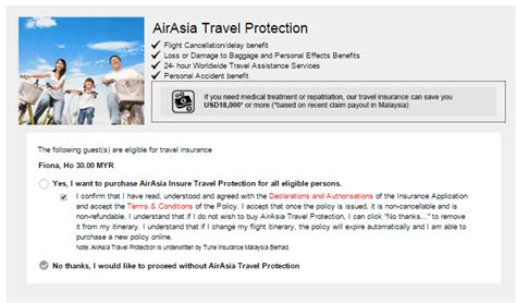 airasia insurance it s a trap don t fly into these budget airline traps