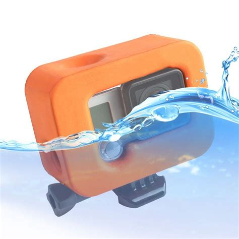 Jual Gopro 4 Plus orange floaty protective cover for gopro 4 3 3 plus accessories sale banggood