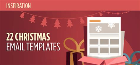 christmas html layout 22 inspirational html email templates