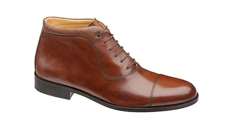 Dress Shoes Johnston Murphy by Johnston Murphy Newell Boot Best Dress Shoes For 200 S Journal