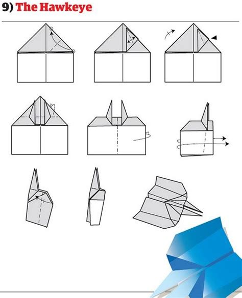 How To Make A Paper Airplane - picture how to make cool paper planes