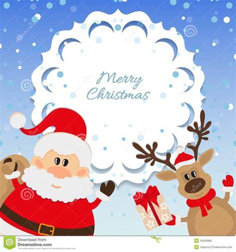 imagenes de santa claus y la navidad fondo de santa claus y del reno para la navidad