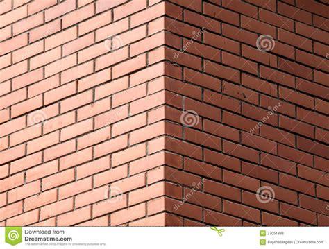 decorative brick walls corner of decorative brick wall royalty free stock photos