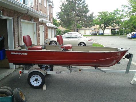 used aluminum boats for sale ottawa 12 foot aluminum fishing boat will deliver locally