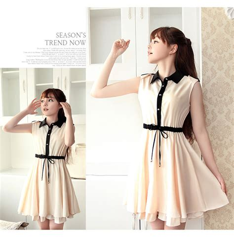 Dress Import Murah A30843 Apricot dress import cantik terbaru model terbaru jual murah