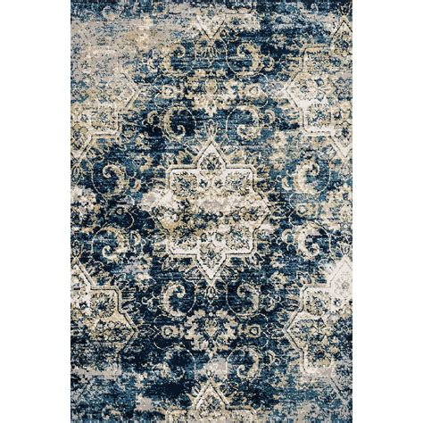 Blue Area Rugs 5x8 City Furniture Torrance Dk Blue 5x8 Area Rug