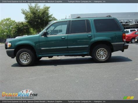 2000 ford explorer xls 2000 ford explorer xls 4x4 spruce green metallic medium